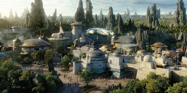 Disney bygger galaxens häftigaste nöjesfält. Disney World
