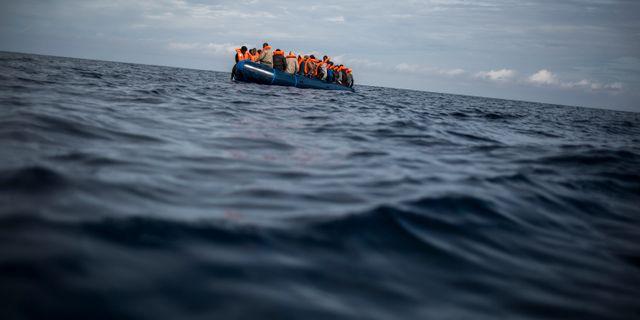 Illustrationsbild. En spansk räddningsinsats i oktober. Javier Fergo / TT NYHETSBYRÅN/ NTB Scanpix
