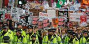 Strejk i Storbritannien 2011 (arkivbild). Lefteris Pitarakis / TT / NTB Scanpix