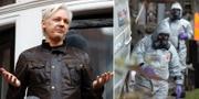 Julian Assange/Utredare på plats i Salisbury efter giftgasattacken mot ex-spionen TT