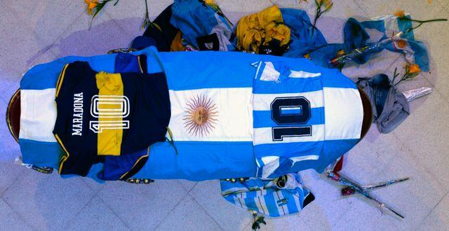 Maradonas kista. TT NYHETSBYRÅN