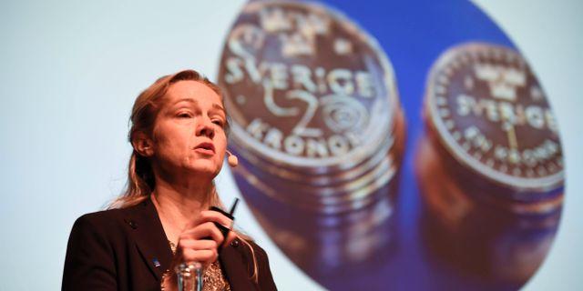 Arkivbild: Cecilia Skingsley, vice riksbankschef. Marko Sävälää/TT / TT NYHETSBYRÅN