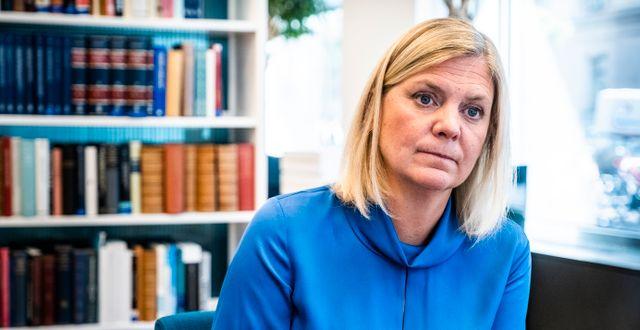 Magdalena Andersson. Magnus Hjalmarson Neideman/SvD/TT / TT NYHETSBYRÅN