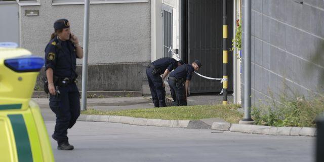 Polisinsatsen i Östberga, 2017. Janerik Henriksson/TT / TT NYHETSBYRÅN