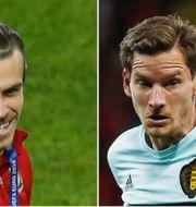 Gareth Bale och Jan Vertonghen. TT