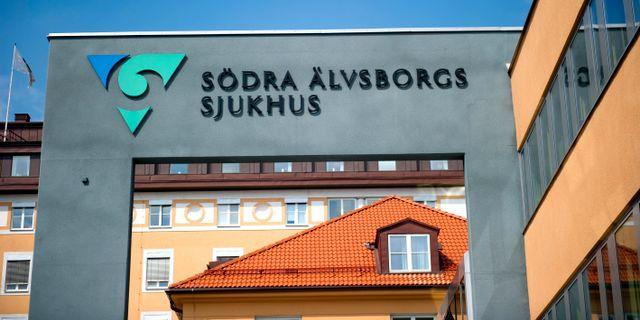 Södra Älvsborgs sjukhus. Arkivbild. BJÖRN LARSSON ROSVALL / TT / TT NYHETSBYRÅN