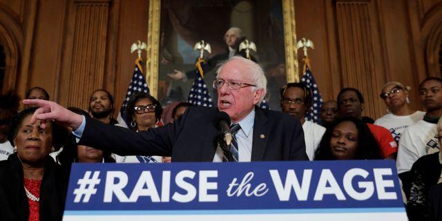 Bernie Sanders den 16 januari 2019 Yuri Gripas / TT NYHETSBYRÅN