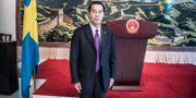 Kinas ambassadör Gui Congyou. Arkivbild. Lars Pehrson/SvD/TT / TT NYHETSBYRÅN