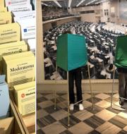 Illustrationsbilder, valet 2018. TT