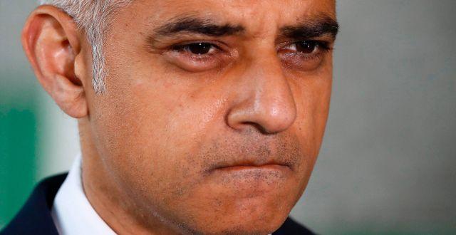 Sadiq Khan. ODD ANDERSEN / AFP