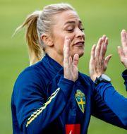 Fridolina Rolfö.  Adam Ihse / TT / TT NYHETSBYRÅN