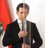 Sebastian Kurz Ronald Zak / TT NYHETSBYRÅN