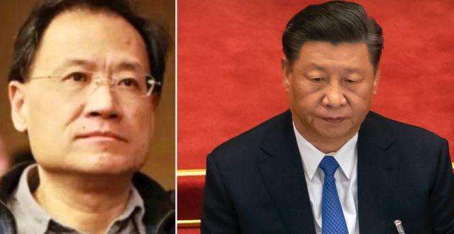 Xu Zhangrun/Xi Jinping  TT