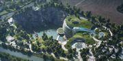 Om några veckor är det premiär för Kinas nya lyxhotell som stupar 88 meter rakt ner i ett gammalt stenbrott. Shimao Wonderland InterContinental