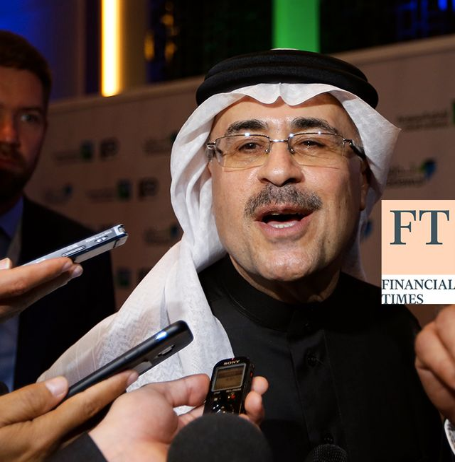Saudi Arabia's state-owned oil company Aramco CEO Amin Al-Nasser. Amr Nabil/TT