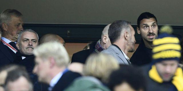 Zlatan Ibrahimovic.  JONATHAN NACKSTRAND / AFP