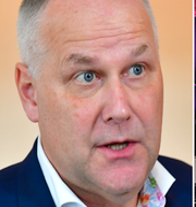 Jonas Sjöstedt/SD håller valvaka i samband med valet 2018. TT