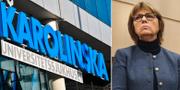Eva Fernvall, föreslagen ny vice ordförande i styrelsen för Nya Karolinska. TT