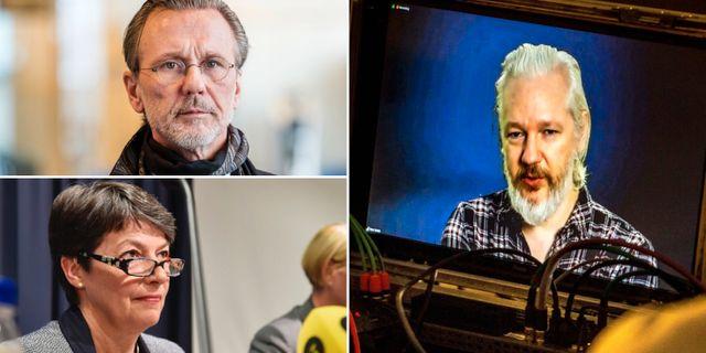 Brittisk protest i assange arendet