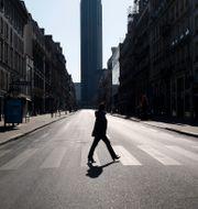 Ensamt i Frankrike. Thibault Camus / TT NYHETSBYRÅN