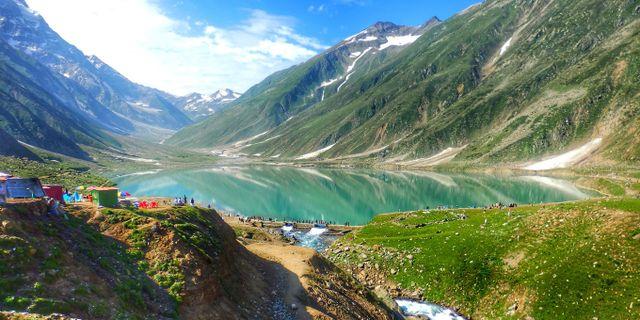 Saiful Muluk-sjön i Kaghandalen, Pakistan. Daud Ahmad