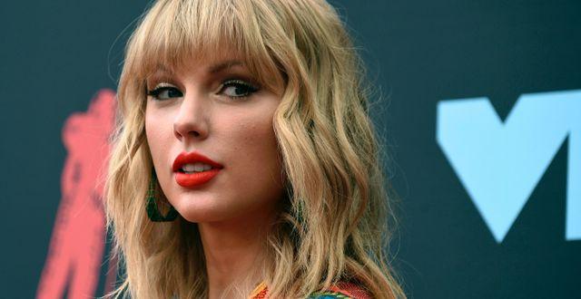 Taylor Swift Evan Agostini / TT NYHETSBYRÅN