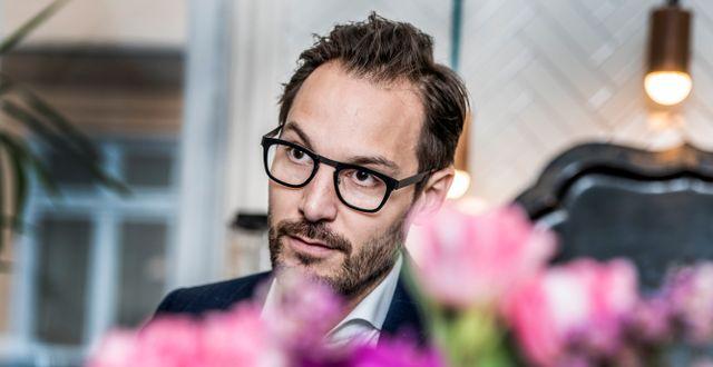 Georgi Ganev, vd Kinnevik Lars Pehrson/SvD/TT / TT NYHETSBYRÅN