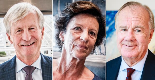 Bennet, Ax:son och Persson. TT