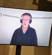 Statsepidemiolog Anders Tegnell. Pontus Lundahl/TT / TT NYHETSBYRÅN