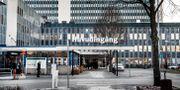 Ingången till Danderyds sjukhus.  Tomas Oneborg / SvD / TT / TT NYHETSBYRÅN