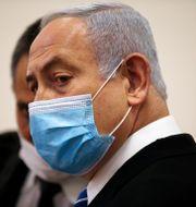 Benjamin Netanyahu. Ronan Zvulun / TT NYHETSBYRÅN