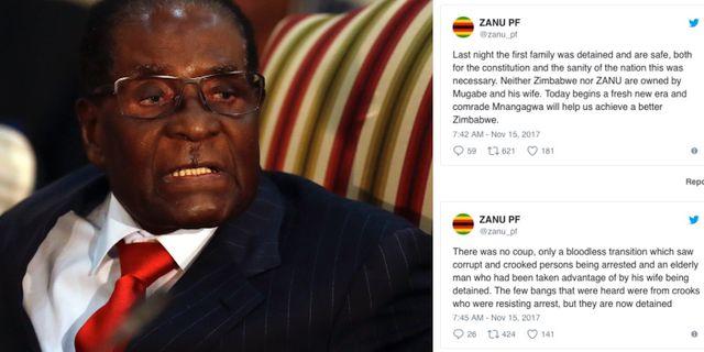Mugabe.  TT