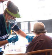 Vaccination.  Fredrik Sandberg/TT / TT NYHETSBYRÅN