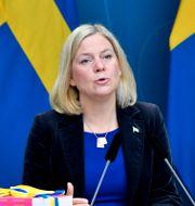Magdalena Andersson (S) Anders Wiklund/TT / TT NYHETSBYRÅN
