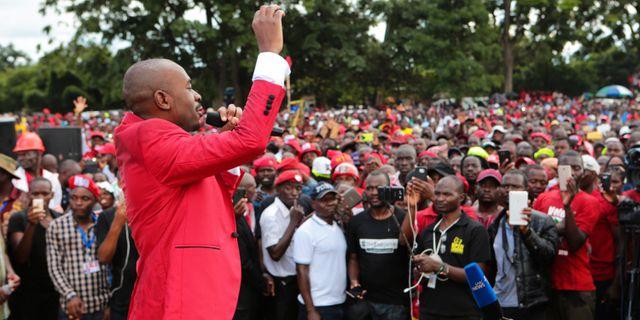 Nelson Chamisa. Tsvangirayi Mukwazhi / TT / NTB Scanpix