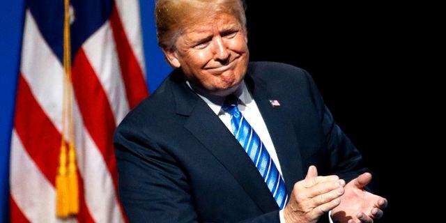 Donald Trump. Charlie Riedel / TT / NTB Scanpix