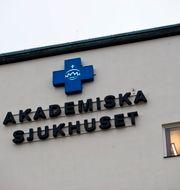 Akademiska sjukhuset i Uppsala. HENRIK MONTGOMERY / TT / TT NYHETSBYRÅN