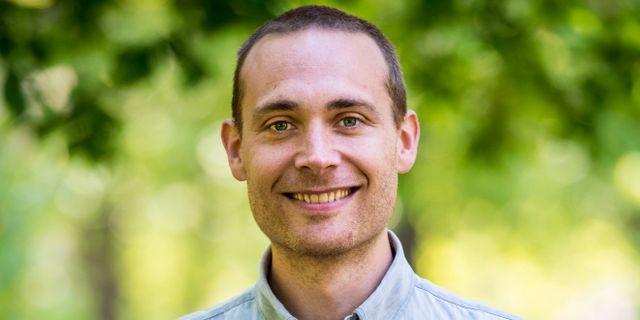 Programledaren Jesper Rönndahl.  Per Larsson / TT / TT NYHETSBYRÅN