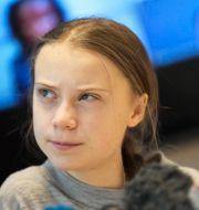 Greta Thunberg. Pontus Lundahl/TT / TT NYHETSBYRÅN