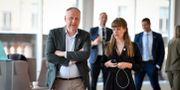 Vänsterpartiet Jonas Sjöstedt (V) i samband med partiledardebatt i riksdagen.  Jessica Gow/TT / TT NYHETSBYRÅN