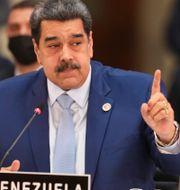 Venezuelas president Nicolás Maduro.  TT NYHETSBYRÅN