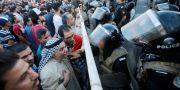 Protester i Bagdad, 20 juli KHALID AL-MOUSILY / TT NYHETSBYRÅN