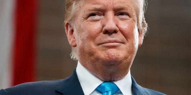 Donald Trump. Evan Vucci / TT NYHETSBYRÅN/ NTB Scanpix