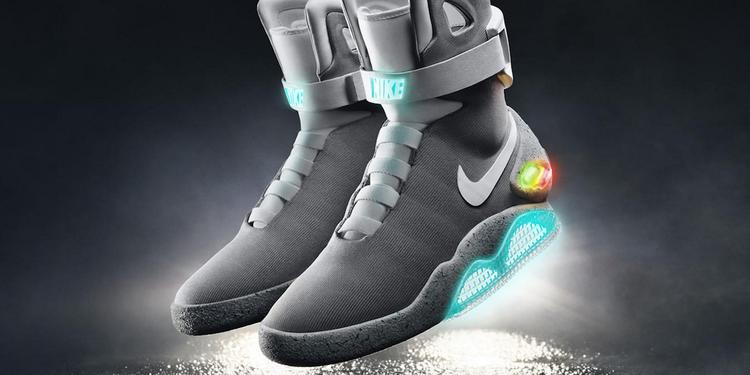 Nike släpper självknytande skor 2016 Omni