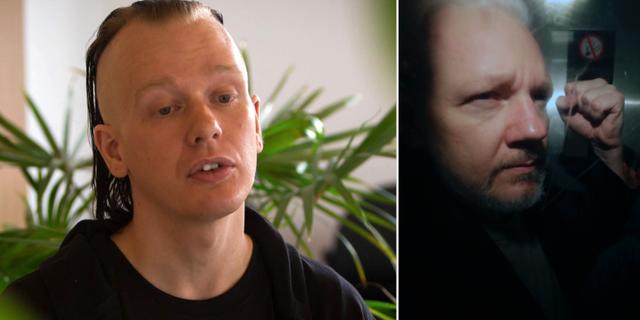 Ola Bini/Julian Assange. TT