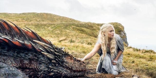 Emilia Clarke som Daenerys i serien. TT / NTB Scanpix
