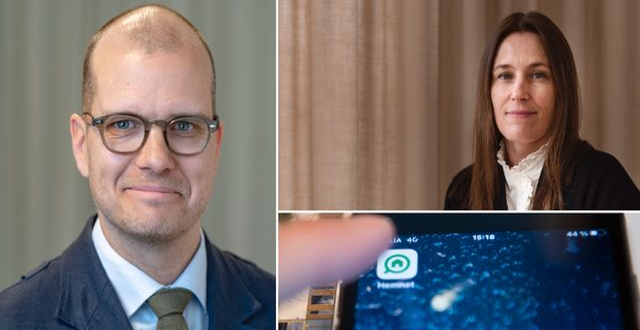 Joakim Bornold. Cecilia Beck-Friis, vd i Hemnet.  TT