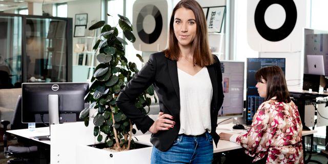 Johanna Kull, sparekonom Magnus Sandberg