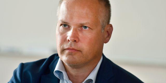 Morgan Johansson (S). Robert Henriksson/TT / TT NYHETSBYRÅN