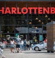 Köpcenter i Charlottenberg. Joachim Lagercrantz/TT / TT NYHETSBYRÅN